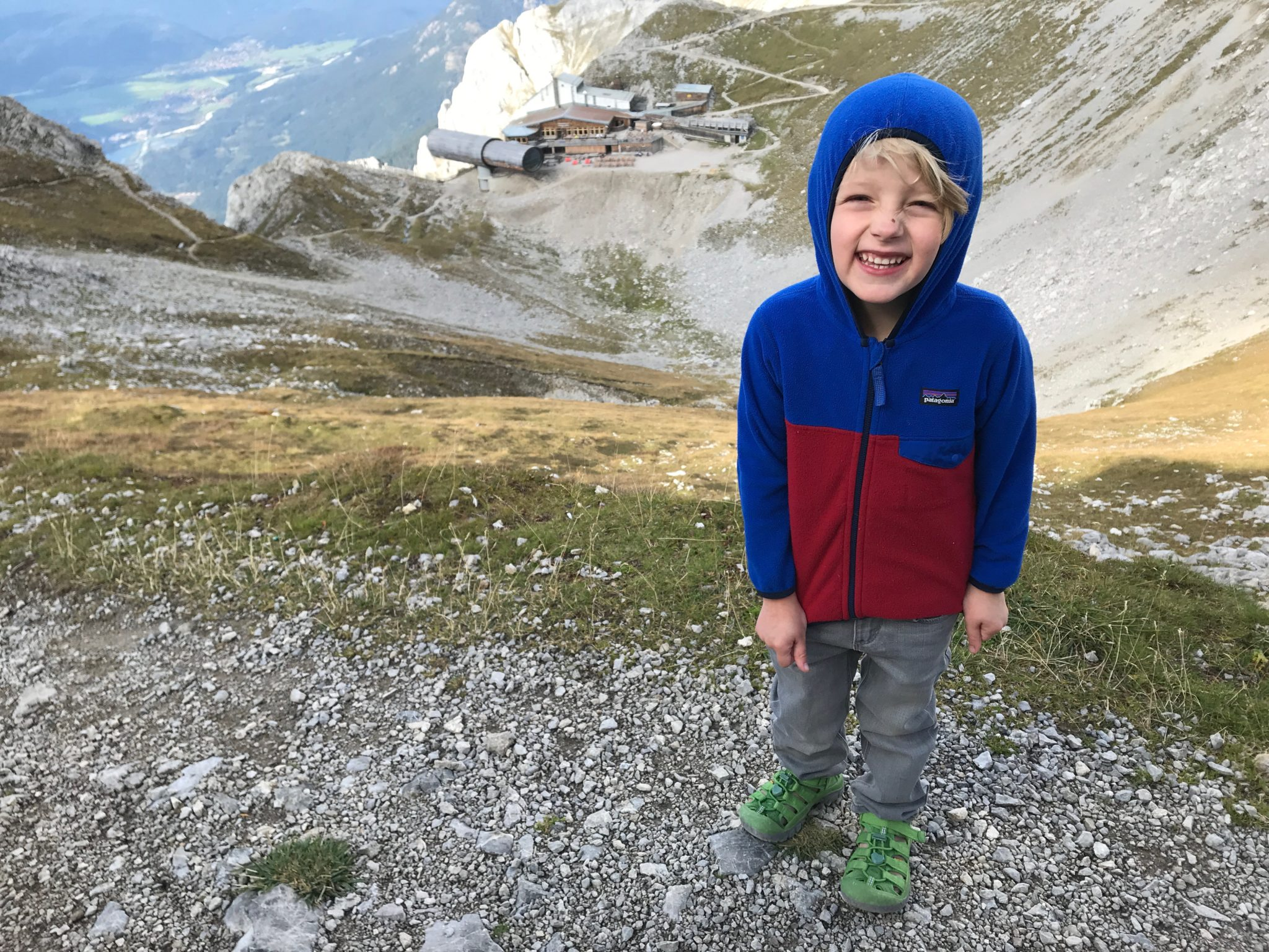 Karwendel hike with kids